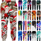 Men Women Graphrics 3D Print Sports Jogger Drawstring Baggy Sweatpants Trousers