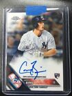 2016 Topps Chrome GREG BIRD Rookie RC Auto Autograph Chrome Yankees