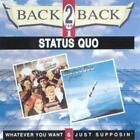 Status Quo : Whatever You Want & Just Supposin CD Expertly Refurbished Product