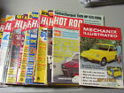 LOT OF 15 HOT ROD MAGAZINES 1971 1972 1973 1977 1987 MECHANIX ILL. AUGUST 1969