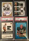 G.B. Packers Lot - Bart Starr Paul Hornung Auto's, Team Thread,1971 Ray Nitschke
