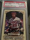 Rod Carew Signed 2014 Gypsy Queen PSA Authentic Auto