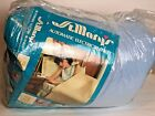VINTAGE ST. MARY'S FAIRLANE ELECTRIC BLANKET NEW Unused Queen Blue