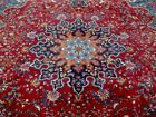 10X13 1940's EXQUISITE FINE ANTIQUE HAND KNOTTED WOOL KHORASAN PERSIAN RUG