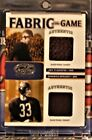 2007 Jim Thorpe Sammy Baugh Leaf Certified Fabric of The Game 48 75