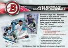 2018 Bowman HIGH TEK BASEBALL Factory Sealed 12 Box Hobby Case