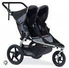 Jogging Stroller Duo 3 Wheel Bob Duallie Two Seat Double Revolution Travel Black