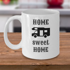 CAMPING coffee mug Home sweet home campers trailer RV cool gift accessories