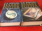 Harry Potter Deathly Hallows  Half Blood Prince First Editions JKRowling H BS