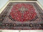 10X13 EXQUISITE MASTERPIECE MINT 200KPSI HAND KNOTTED WOOL KASHMAR PERSIAN RUG