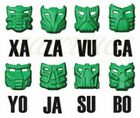 Lego Bionicle Bohrok KRANA ALL 8 GREEN Masks Pahrak 8560