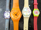Vintage 80's SWATCH WATCHES For Lot Untested