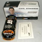 124 ACTION LIONEL 2013 99 GEEK SQUAD FUSION CARL EDWARDS AUTOGRAPHED SERIAL 3