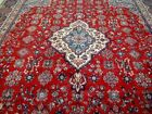 10X13 1940's GORGEOUS AUTHENTIC HAND KNOTTED 70+YRS ANTQ WOOL KAZVIN PERSIAN RUG
