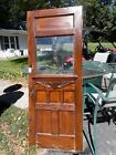 Antique Victorian Entry Door with Ripple Glass Very Nice!