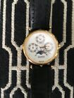 Gucci Women's/ Men's Moon Phase Stack Vintage Watch with Black Gucci Strap