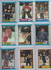 1989-90 Topps Hockey U-pick NM you pick stars inserts RC rookie Hall of Fame