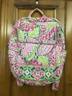 Vera Bradely Preowned Backpack in the Pin Wheel Pink Pattern