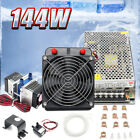 TEC1 12706 Thermoelectric Cooler Peltier Refrigeration Water Cooling+Pump+Pipe