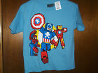 Marvel Captain American  Iron man Spiddy MinecraftT-Shirt NWT M or Large