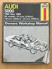 Haynes - Audi 5000 1984 thru 1988 - Auto Repair Manual