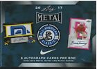 2017 Leaf Metal All-American Perfect Game Classic Baseball Sealed Box 8 Auto's!