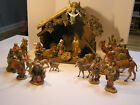 Fontanini 5 Nativity Set 25 Pieces  Italy Depose Crche Manger Wisemen on Ca
