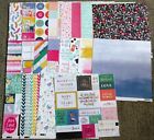 Pink Paislee Page Evans  Oh My Heart Paper Lot 20 Sheets