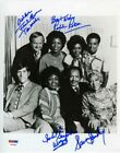 The Jeffersons Cast by 4 Autographed Signed 8x10 Photo Certified PSA DNA COA