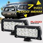 471220224250inch Cree Led Light Bar Pods Cube Flood Spot Offroad Truck 4wd