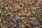 500 MIXED BEER BOTTLE CAPS GREAT COLORS ALL HAVE DENTS CLEAN NO GUNK FR