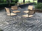 Mid Century Marcel Breuer 4 Dining Chairs