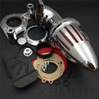 Air Cleaner intake fit 2008-2012 Harly Dyna Electra Glide FLHX Road King CHROME