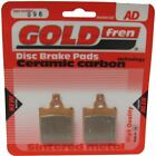 Brake Disc Pads Front R/H Goldfren for 1986 Cagiva SST Ruote Lega (125cc)