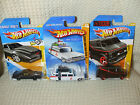 Hot Wheels TV Movie Lot Ghostbusters Ecto 1 Knight Rider KITT A Team Van 80s