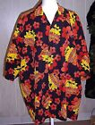 "EUC! ""HAWAIIAN TROPIC"" BRANDED SHIRT  SZ XXL HIBISCUS FLOWERS/SUNGLASSED SUN!"