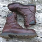 """RED WING 2412 Supersole 2.0 8"""" Waterproof Steel Toe Brown Leather Work Booots"""