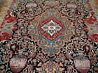 10X13 1940's INCREDIBLE ANTIQUE HISTORIC HUNTING ARCHAEOLOGY KASHMAR PERSIAN RUG