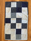 Handmade Primitive Country Antique Reproduction Doll Cradle Quilt/Blanket Pillow