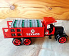 VINTAGE OLD TEXACO Die Cast VEHICLE BANK #9 Mint In NM BOX Never opened ST# 9385