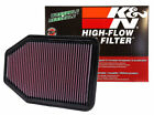 K&N 33-2364 Replacement Drop-in Air Filter for 07-17 Jeep Wrangler 3.6L 3.8L JK