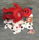 TY BEANIE BABIES GLORY AND AMERICA BOTH RETIRED WITH MWMT TAGS