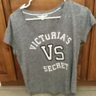 Victoria Secet T-Shirt Short Sleeve small/ petite grey in color