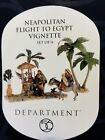 Department 56 Neapolitan Flight to Egypt set of 4 Nativity Scene Set RARE