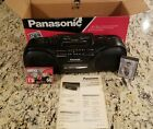Panasonic RX-FS430 Stereo Radio Cassette Recorder Boombox Vintage ~ With Extras~