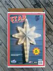 Vintage EMPIRE Giant 39 Light Up Christmas NATIVITY STAR Orig BOX Blow Mold