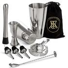 Boston Cocktail Shaker Set Professional Bar Drink Mixing Supplies