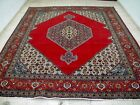10X13 1940's EXQUISITE ANTIQUE HAND KNOTTED 70+YRS BIDJAR TABRIZZ PERSIAN RUG