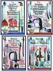 SET OF FOUR FULL COLOR SWORD BOOKLETS FOR COLLECTORS