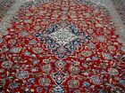10X13 1960s EXQUISITE FINE 200KPSI HAND KNOTTED SIGNED DATED MASHADD PERSIAN RUG